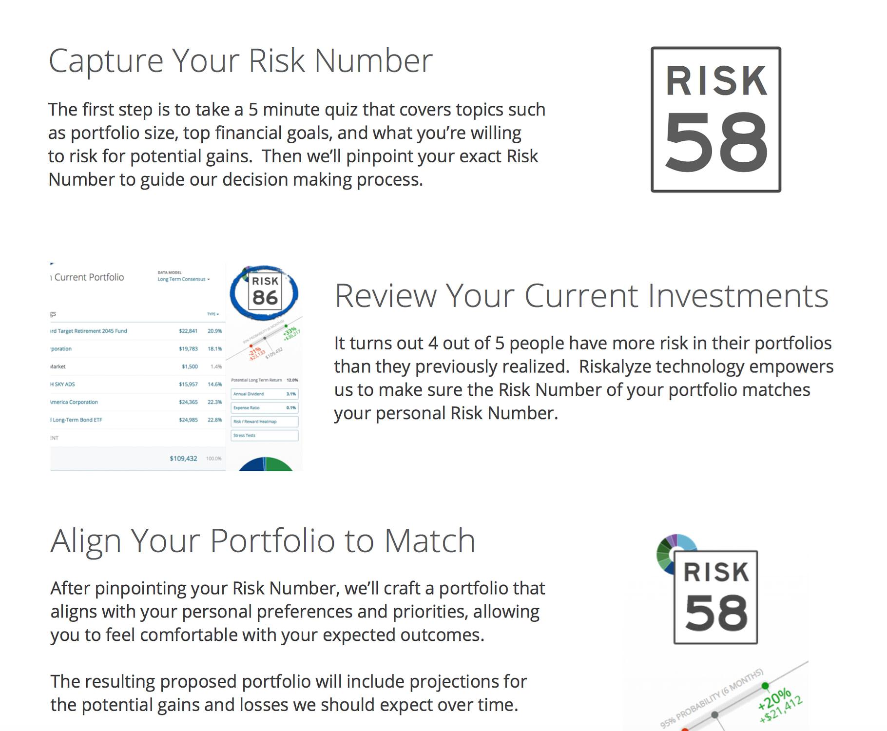 Riskalyze Breakdown